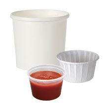 Condiment Pots and Soup Cups