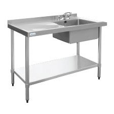 Sinks with Left Hand Drainer