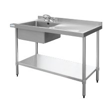 Sinks with Right Hand Drainer